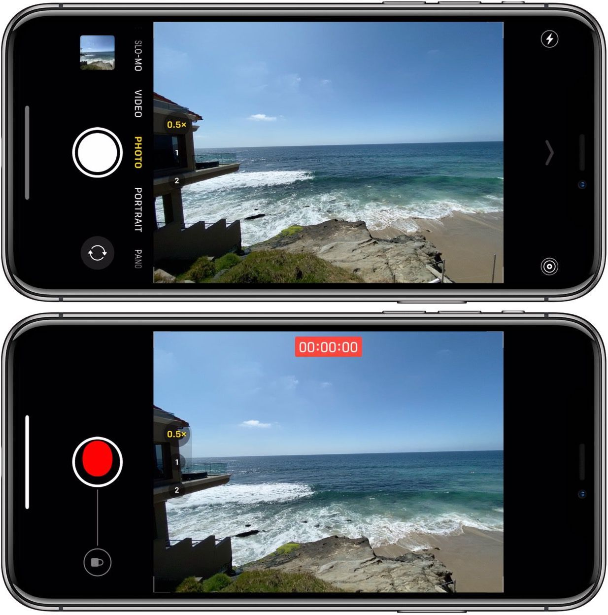 How to use burst mode iPhone 11 camera walkthrough 4