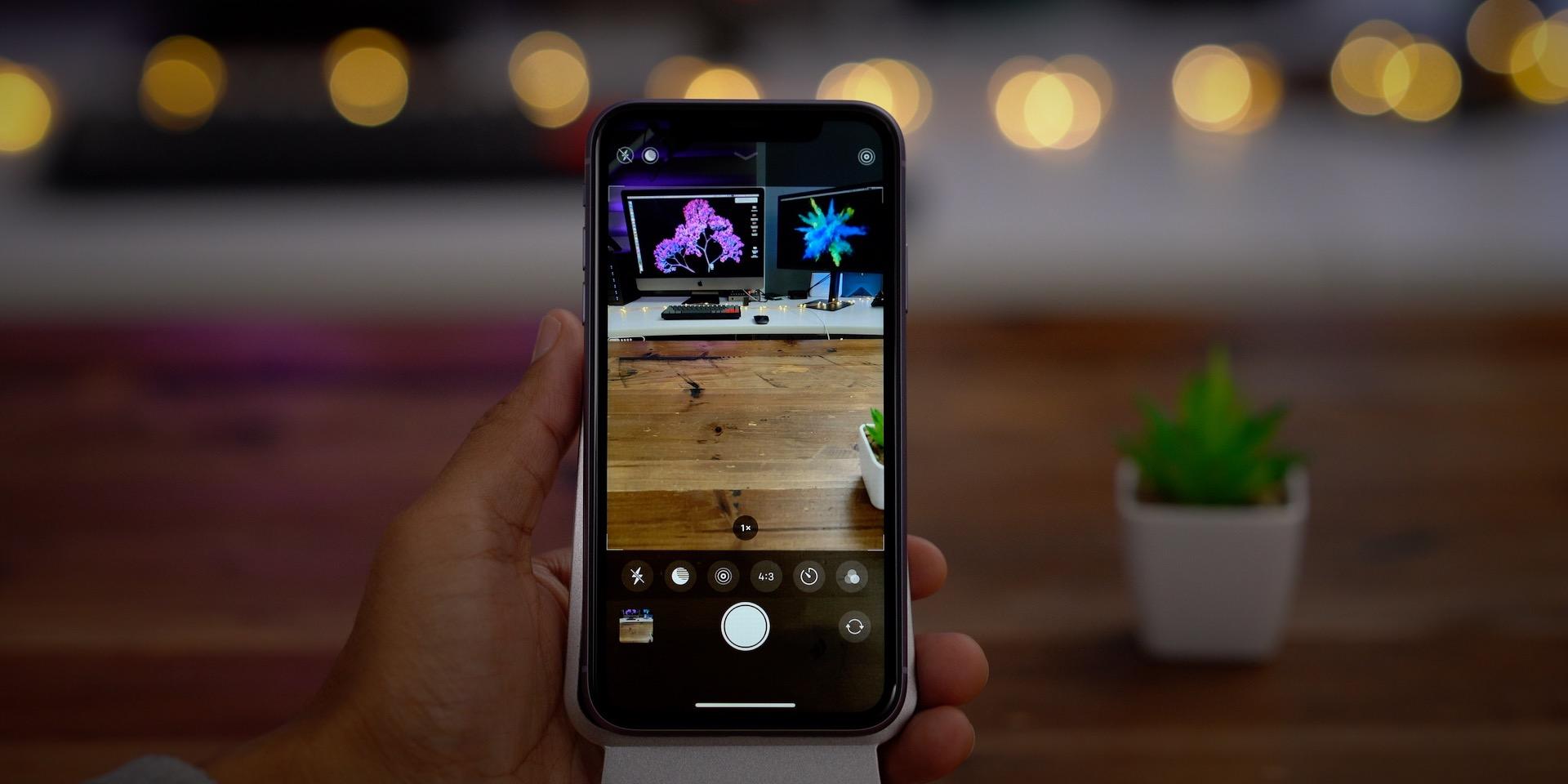 Redesigned Camera App UI iPhone 11