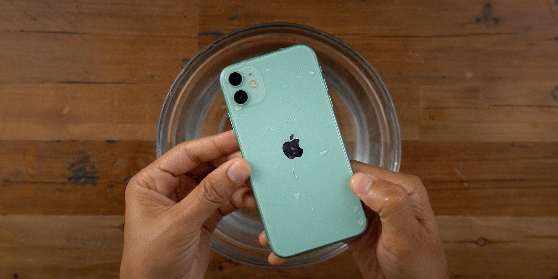 iPhone 11 Water Resistance