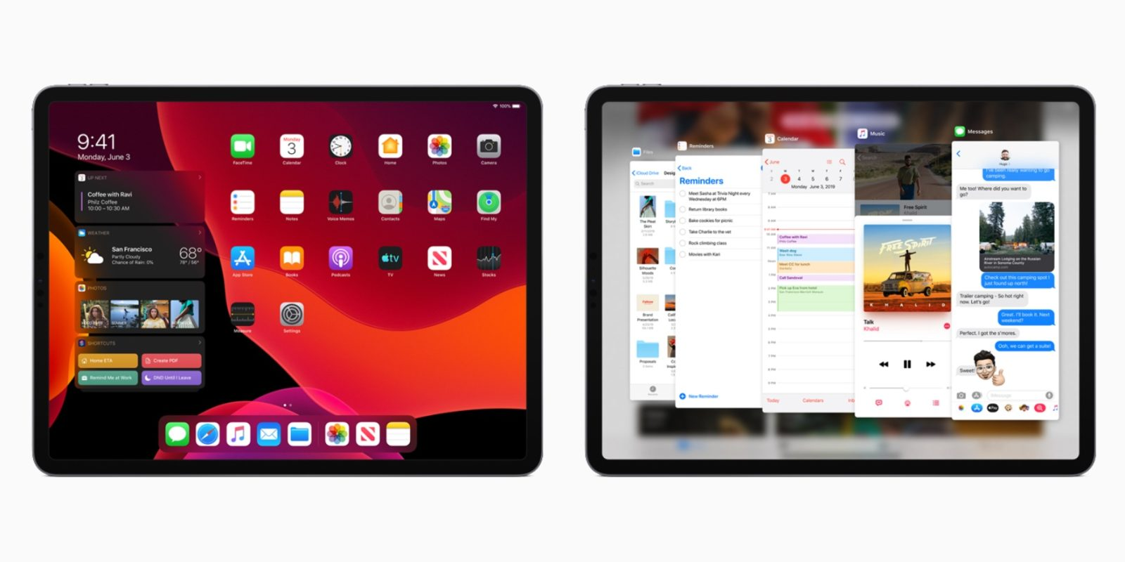 Apple releases iPadOS 13.1 featuring Dark Mode, new Home Screen and multitasking, Arcade, and more