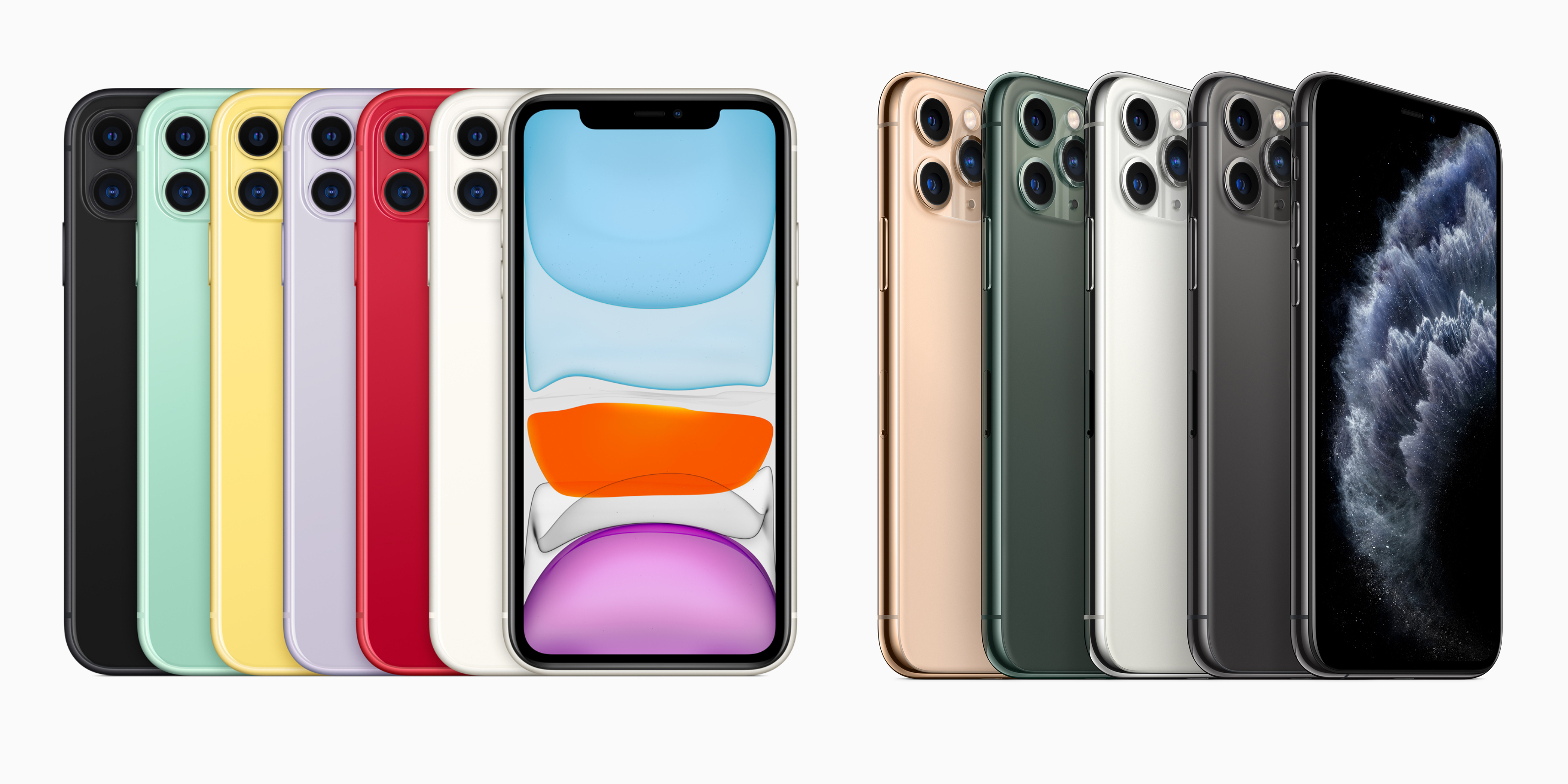 iPhone 11 and iPhone 11 Pro now available to order, starting