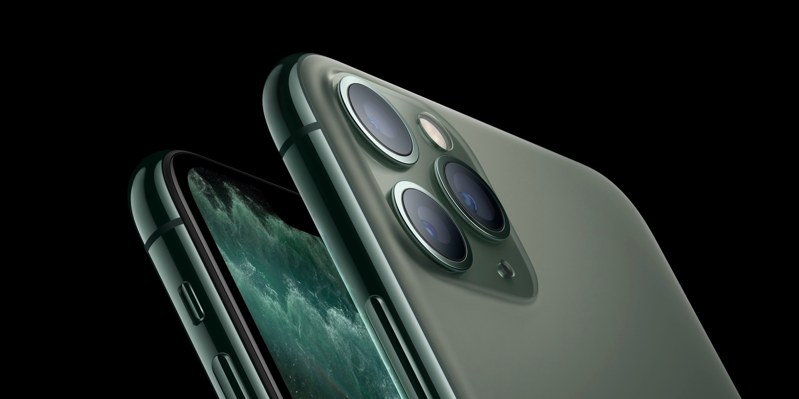 iPhone 11 Pro front and back