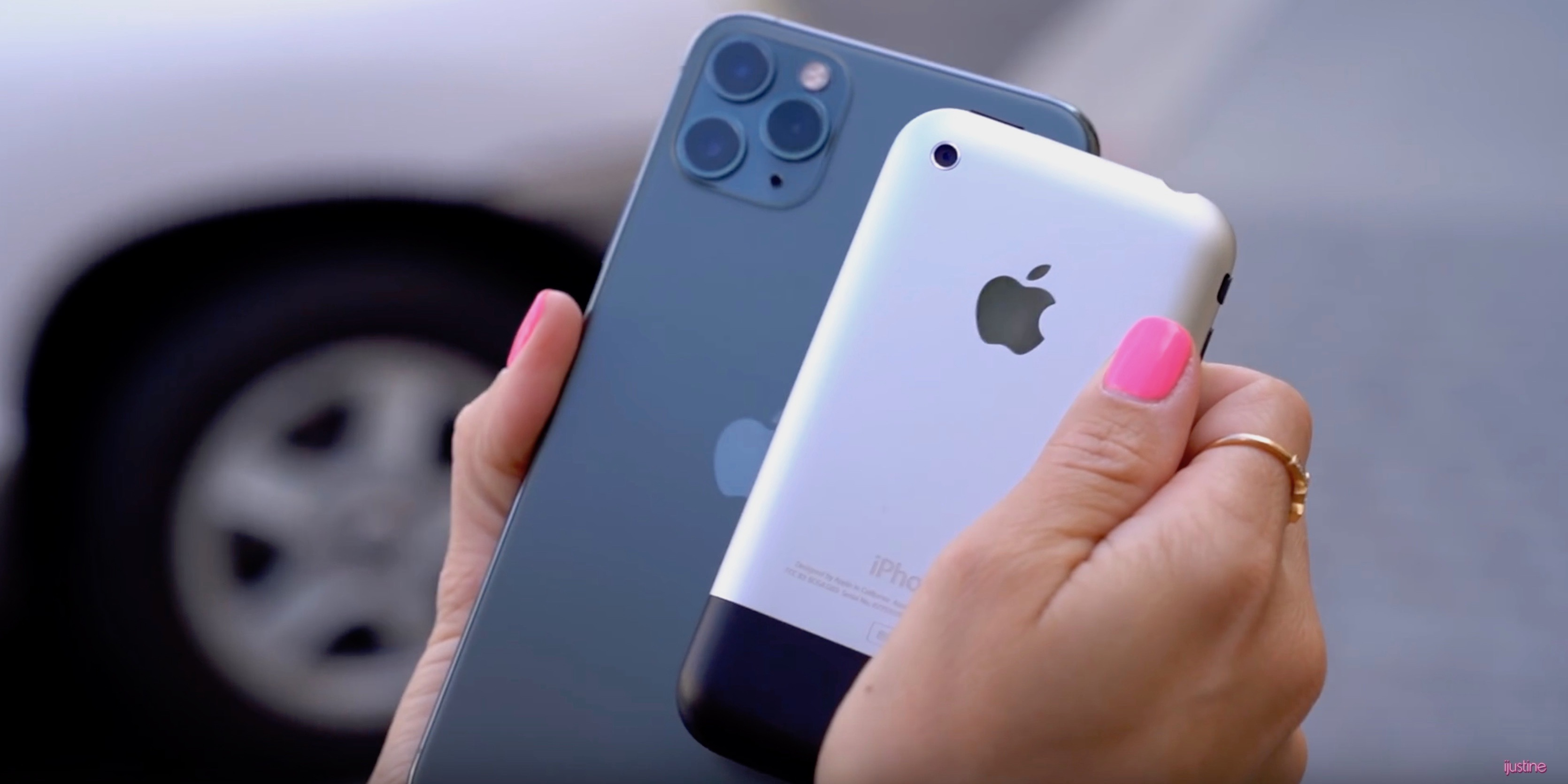 iPhone 11 makes the original iPhone camera look like a