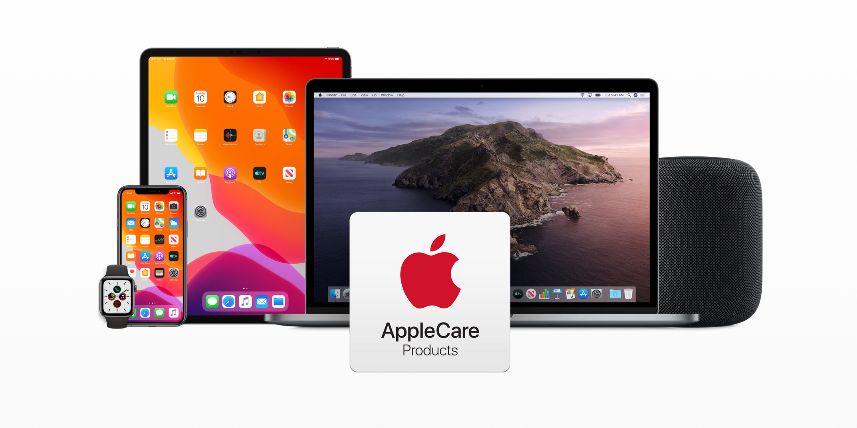 photo of AppleCare+ expanded to cover 2 incidents of accidental damage per year image