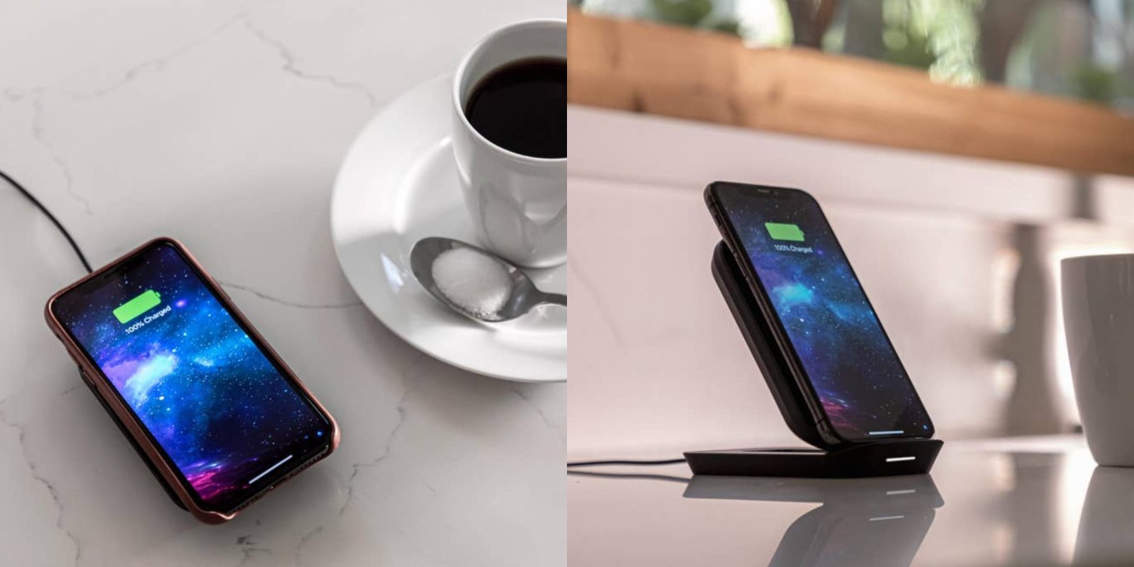 [Update: New Ultrasuede 3-in-1 Wireless Charging Pad too] Mophie launches convertible stand to pad wireless charger for iPhone