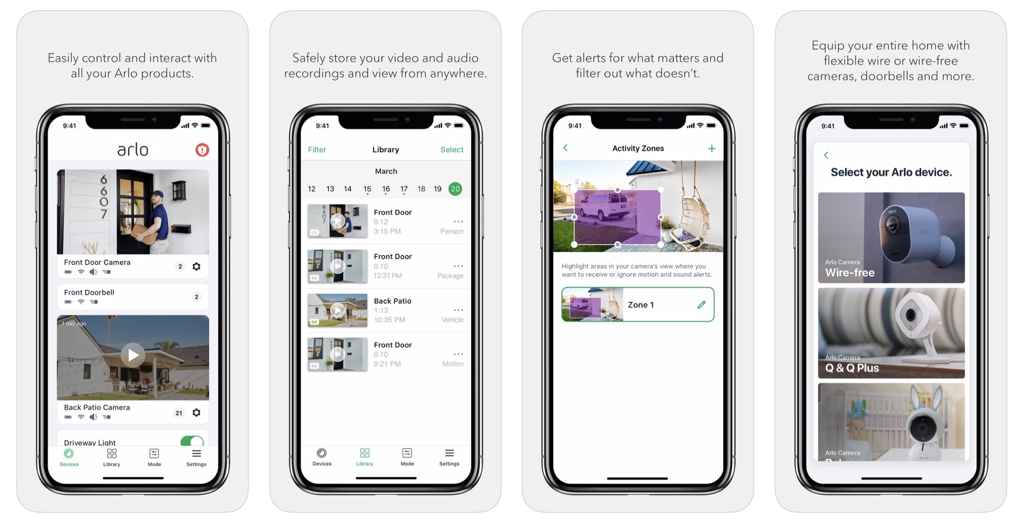 Arlo iOS app drops Apple TV