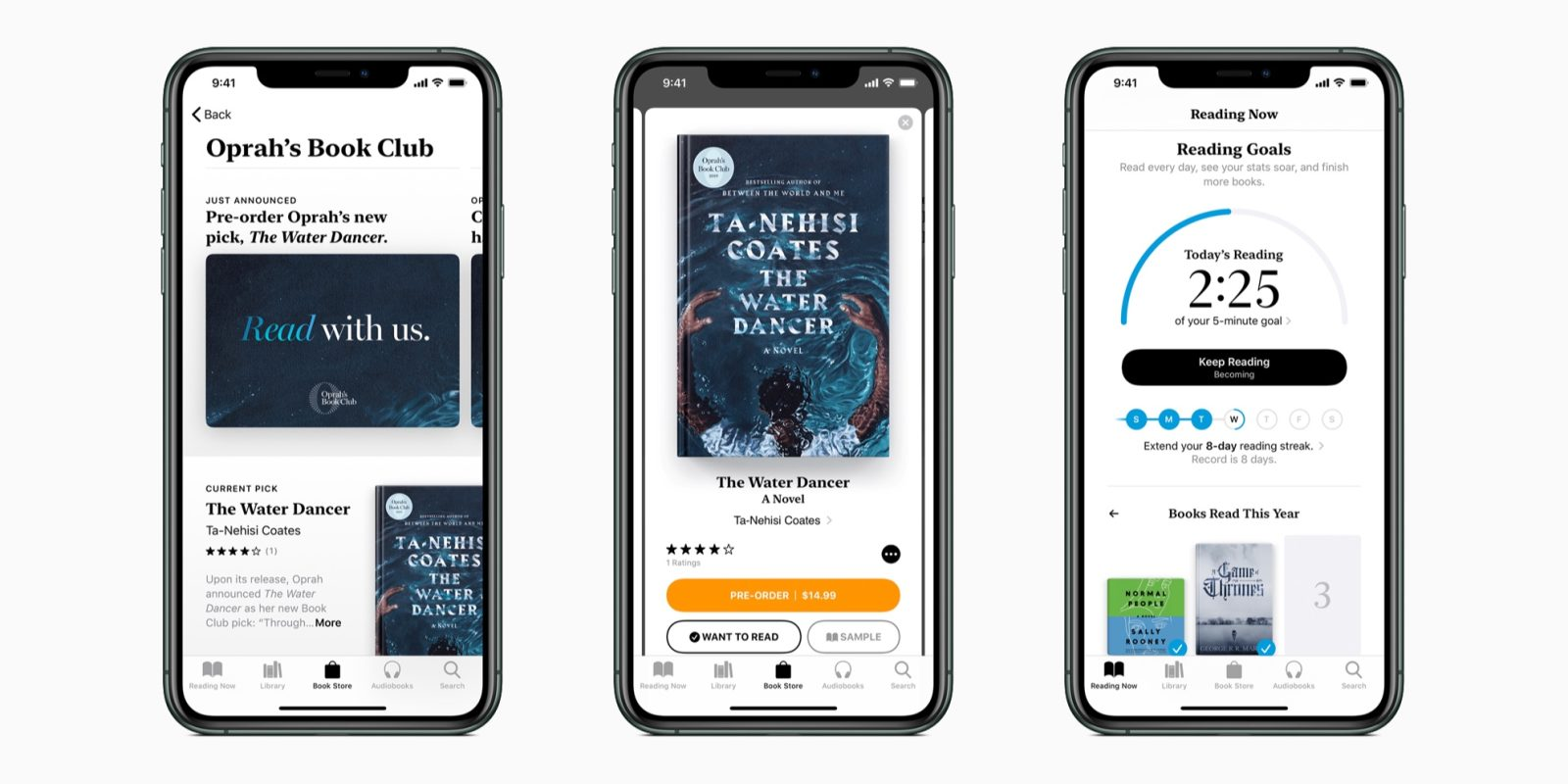 Oprah's Book Club debuts in Apple Books, author interview series launching on Apple TV+