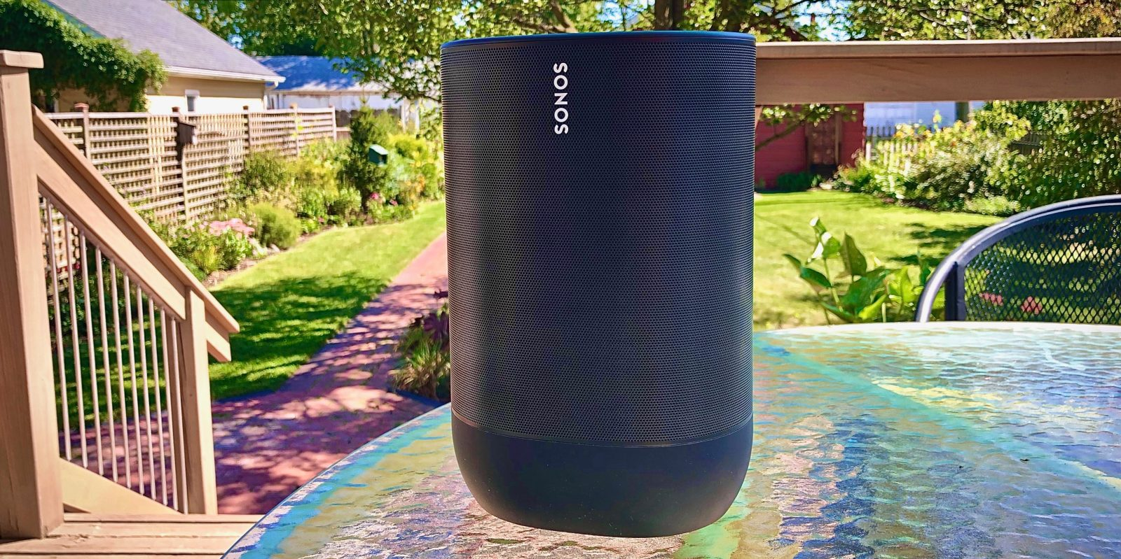 Review: Sonos Move portable speaker with Bluetooth delivers great design, functionality, and adaptive sound for any environment