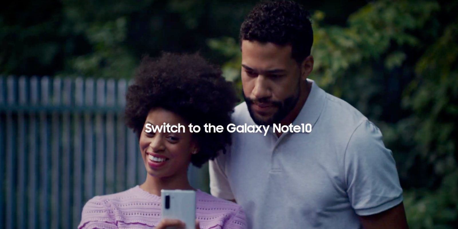Samsung Galaxy ad uses missing iPhone 11 camera feature as bait to switch
