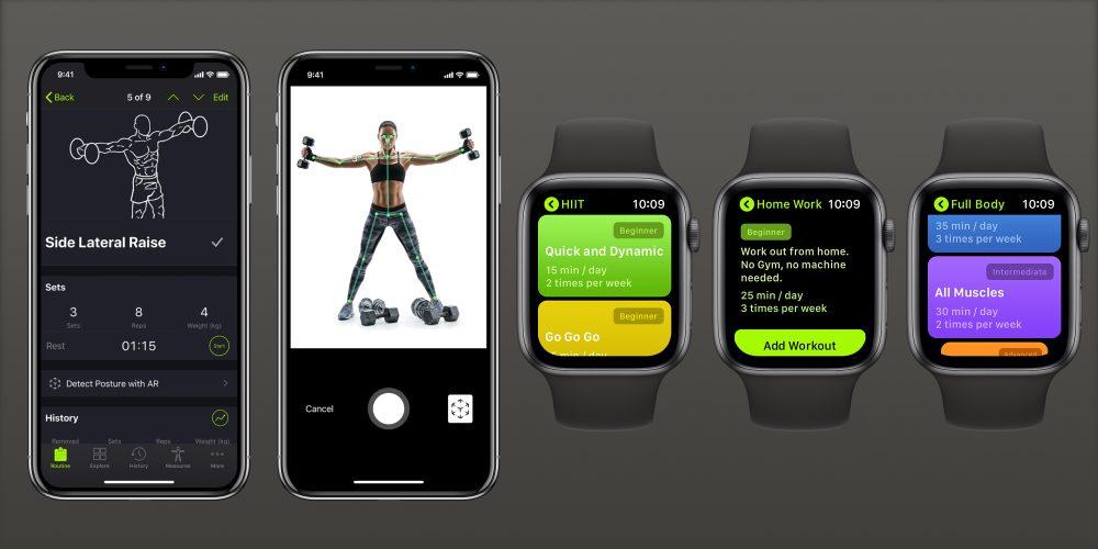 SmartGym iOS Apple Watch update