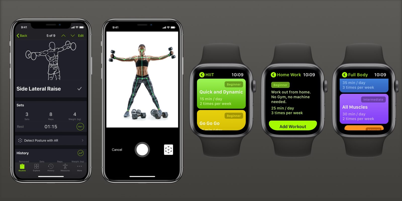 SmartGym for iPhone gains ARKit 3 Body Detection and Pose Estimation, full Siri Shortcuts support, Apple Watch app now independent, more