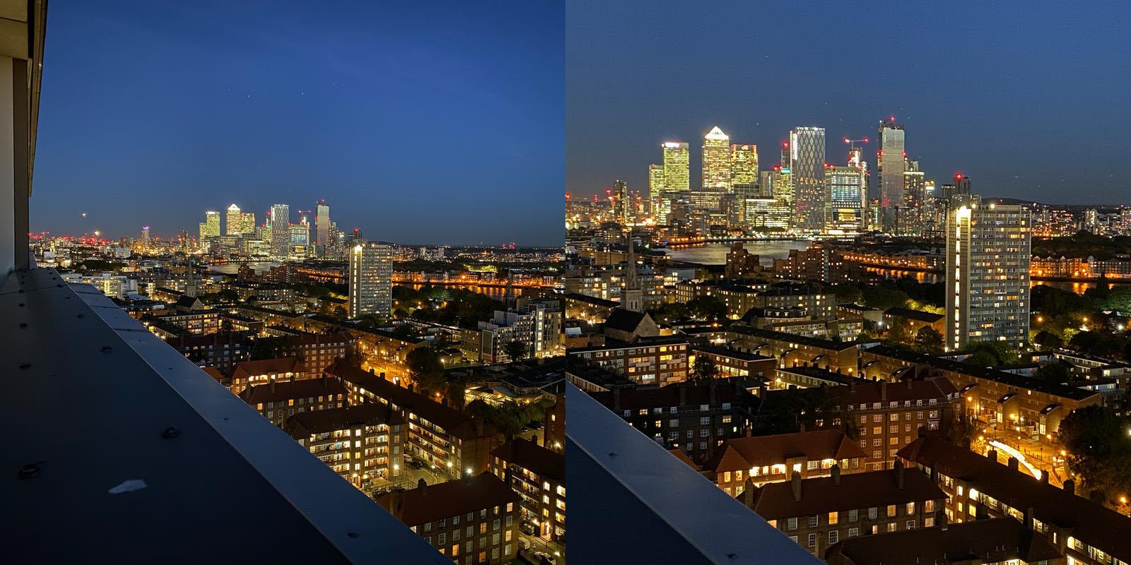 1x vs 2x lens – actually both use the 1x lens