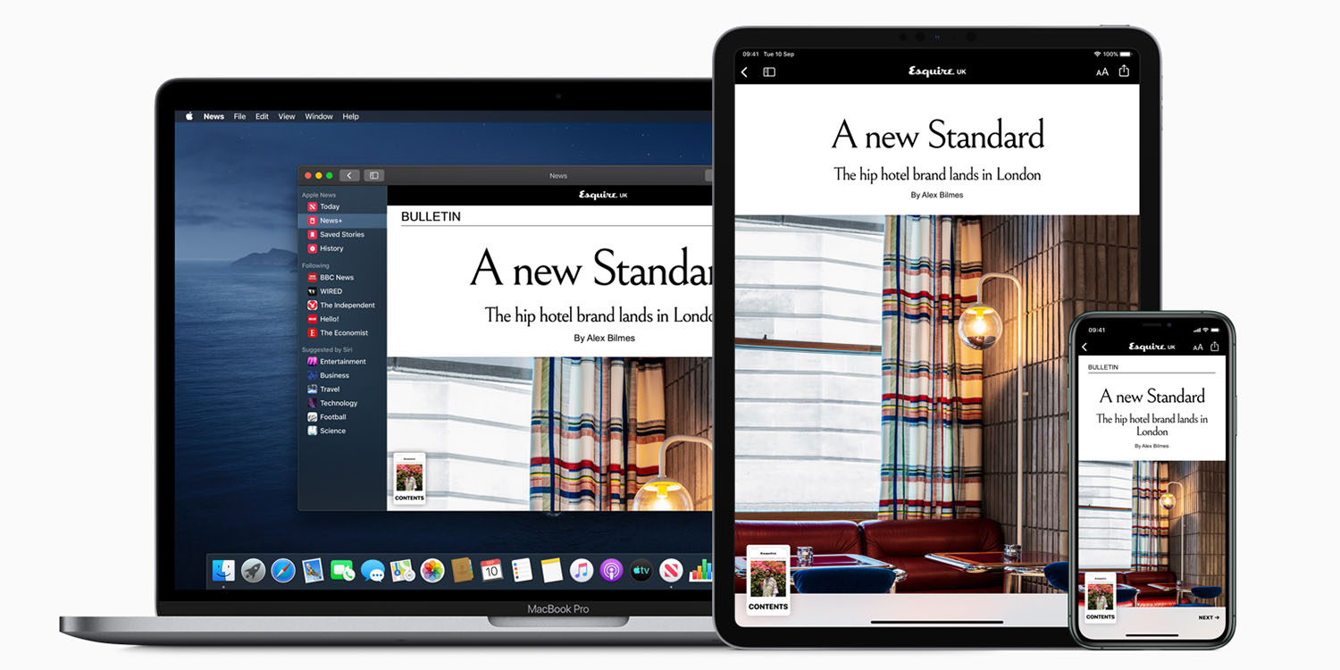 photo of Apple partners with Verizon to offer free six months of News+ for new iPad buyers image