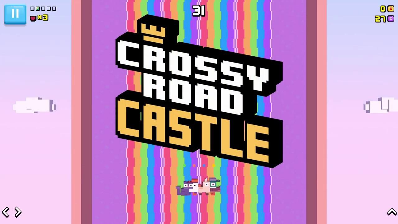 crossy road castle apple arcade ios