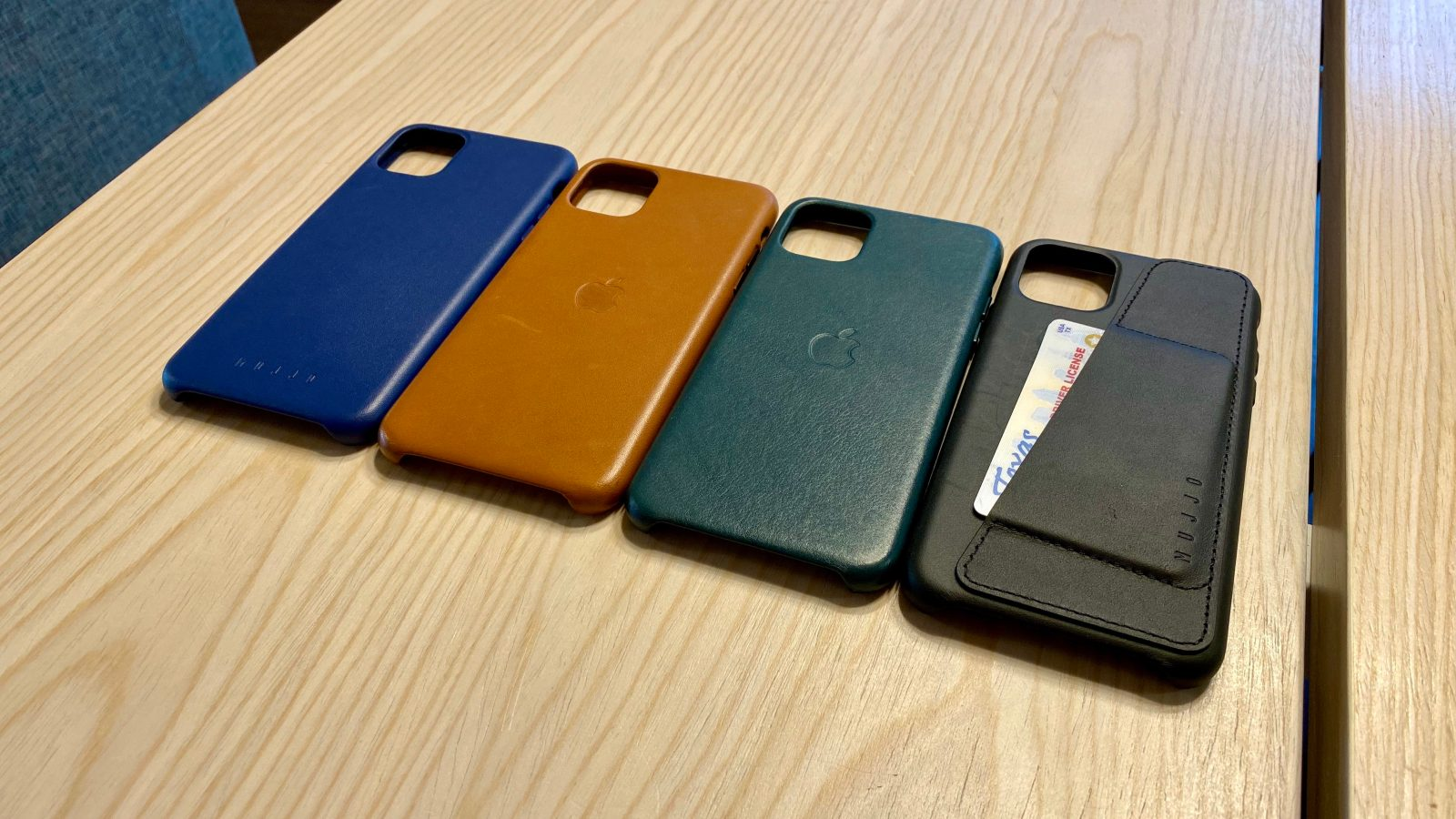 Hands-on: How Mujjo's leather and wallet cases for iPhone 11 compare to Apple's