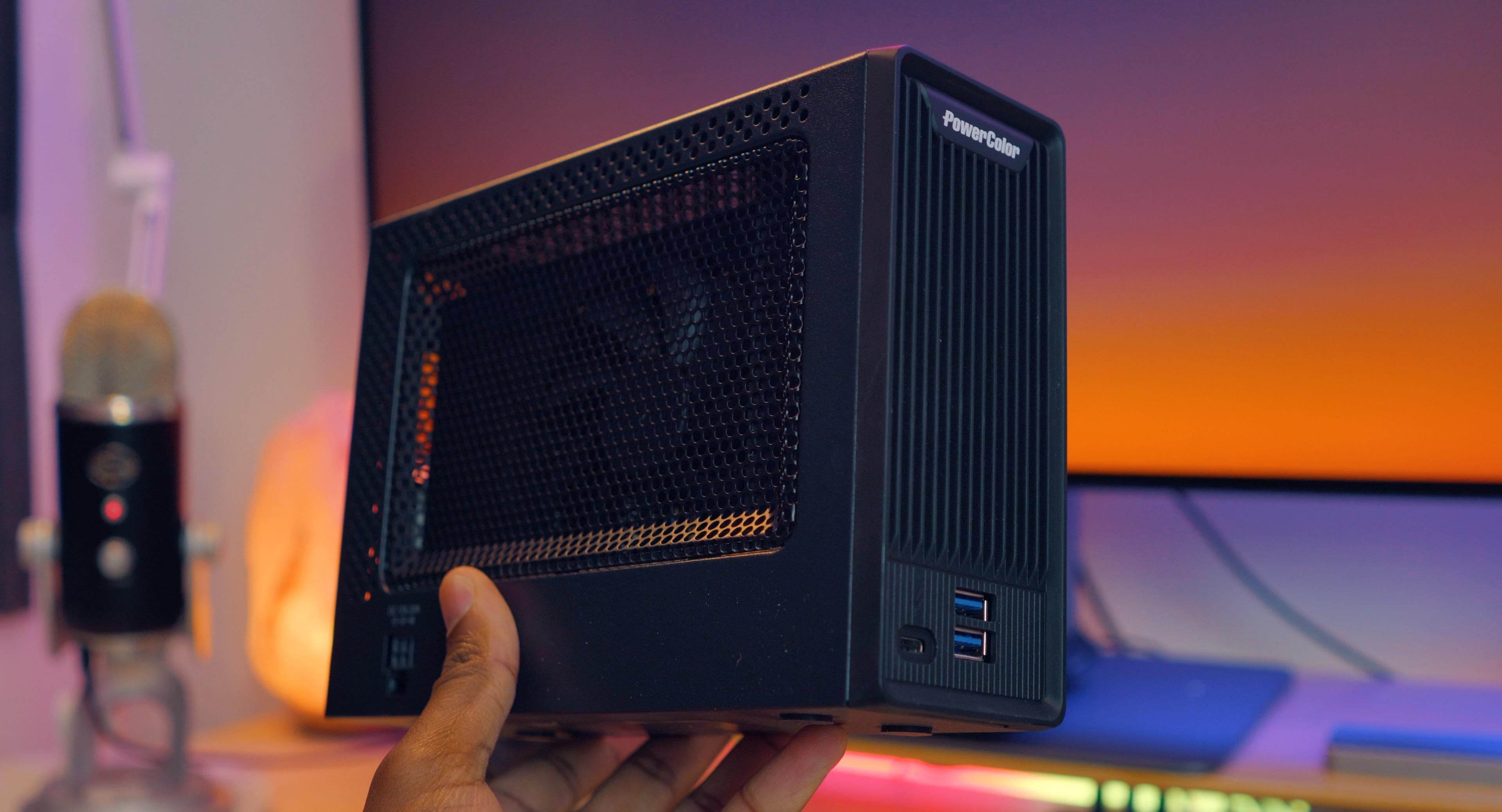 External GPU in hand