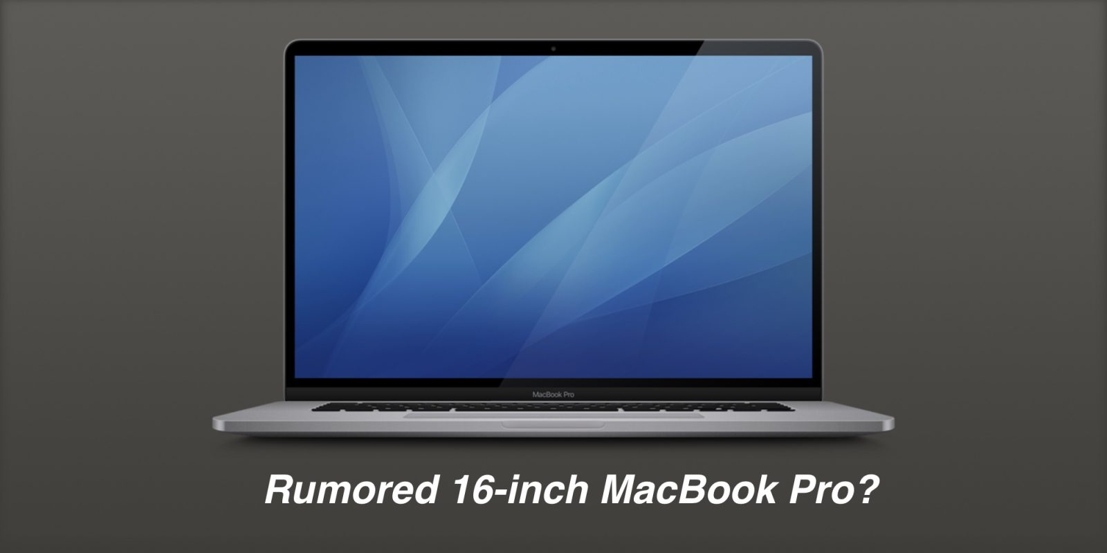 Is this the rumored 16-inch MacBook Pro? macOS beta includes unreleased hardware icon