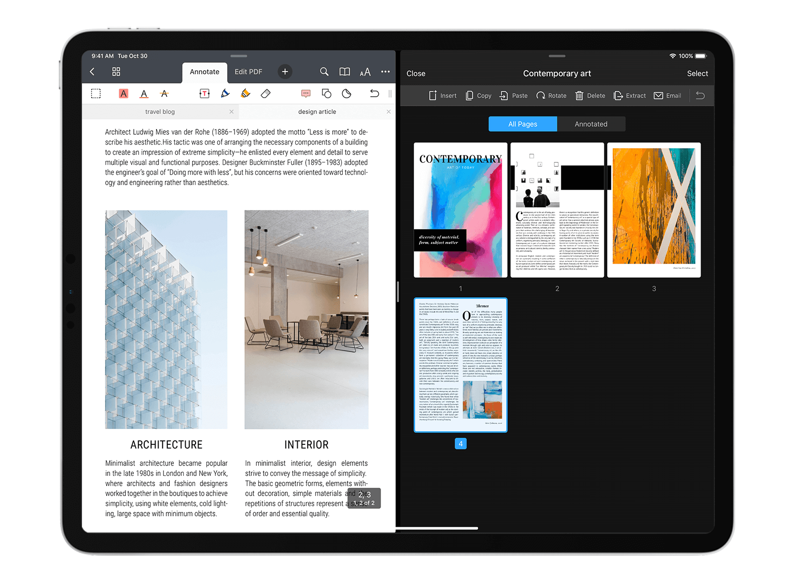 PDF Expert 7 updated for iPadOS 13 and more with multiple windows supp