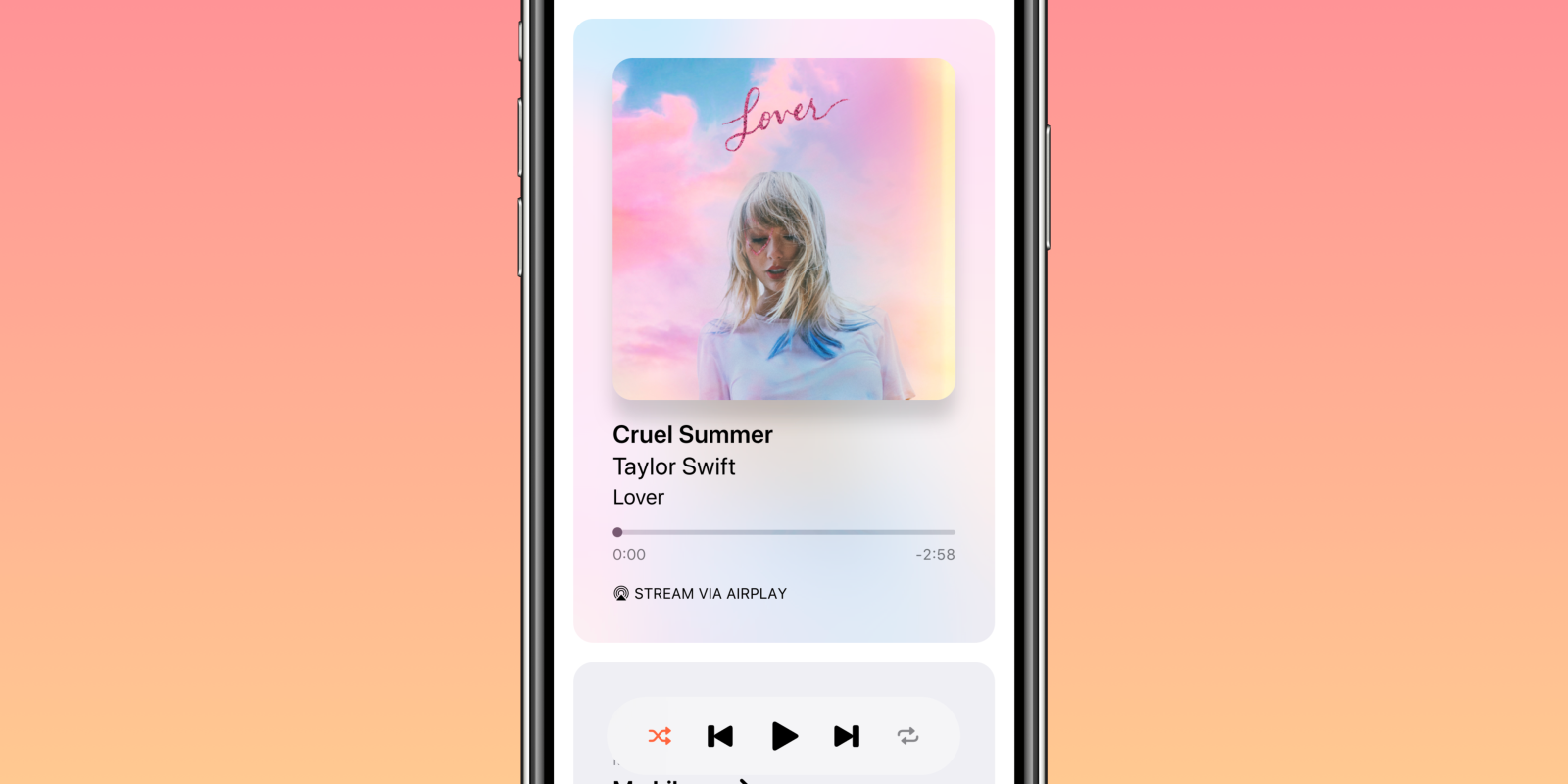 Next is a new app that brings dynamic playlists to Apple Music