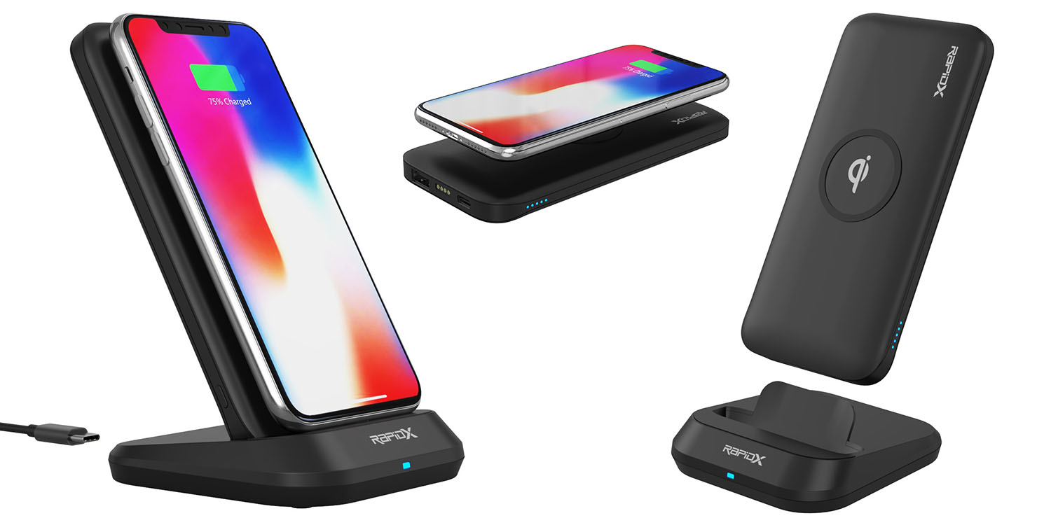 Review: RapidX MyPort is a neat all-in-one desk and portable wireless charger
