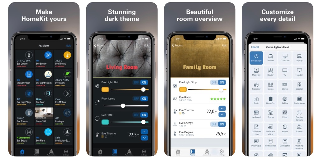 photo of Eve for HomeKit app adds iOS 13 Dark Mode support, new navigation bar, more image