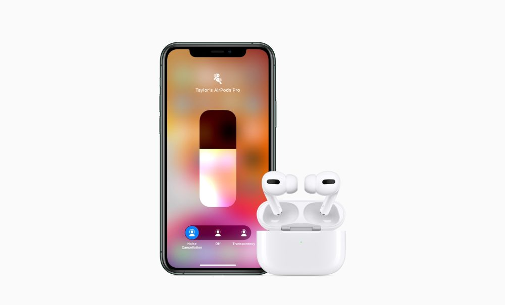 airpods pro transparency toggle