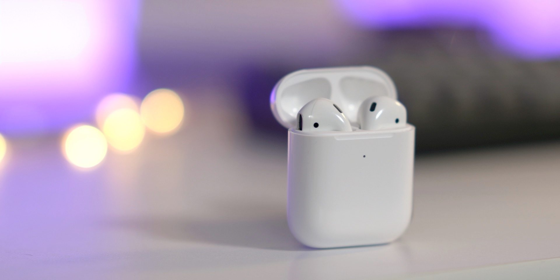 AirPods wireless charging