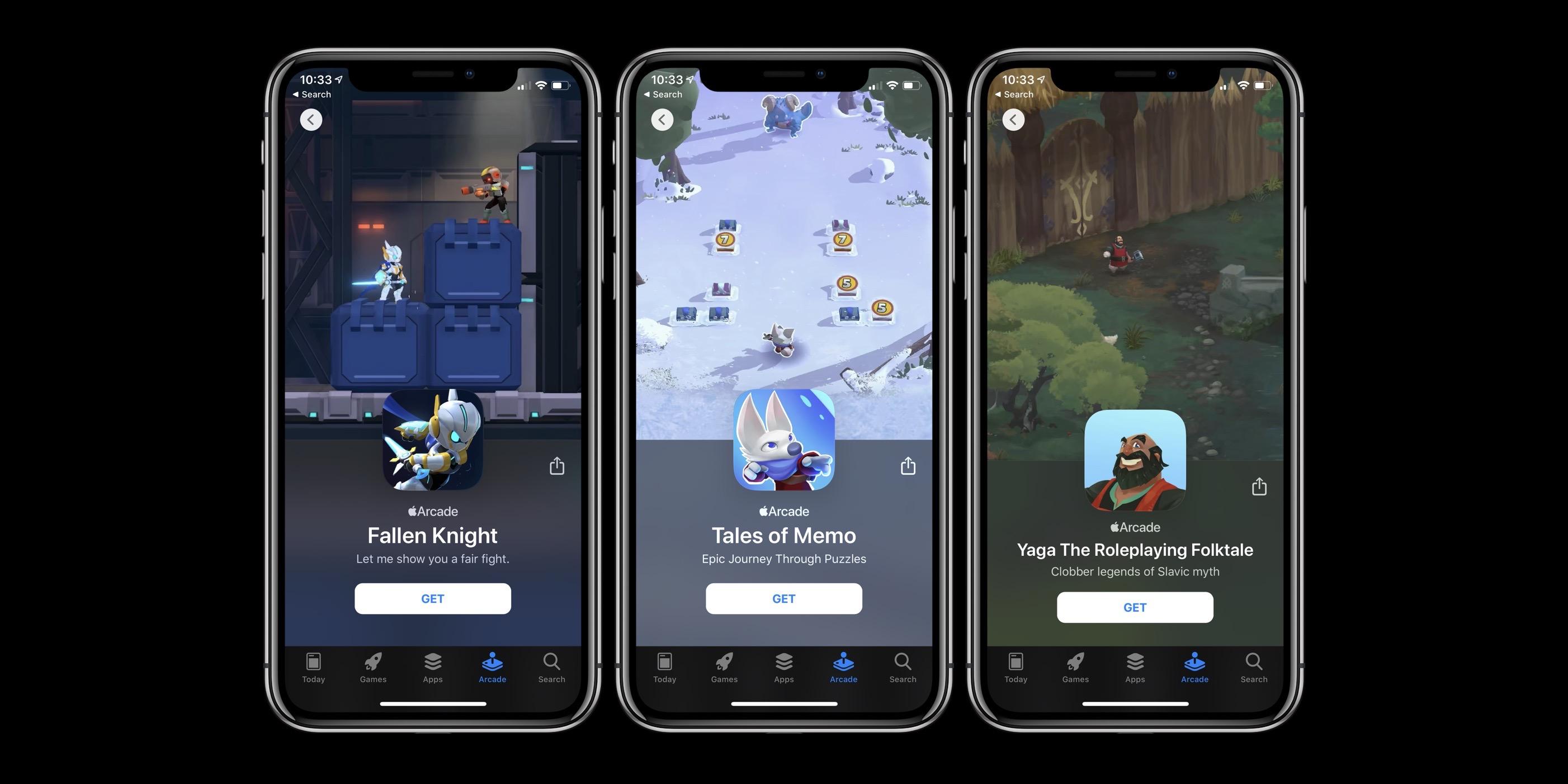Apple Arcade new games October 25
