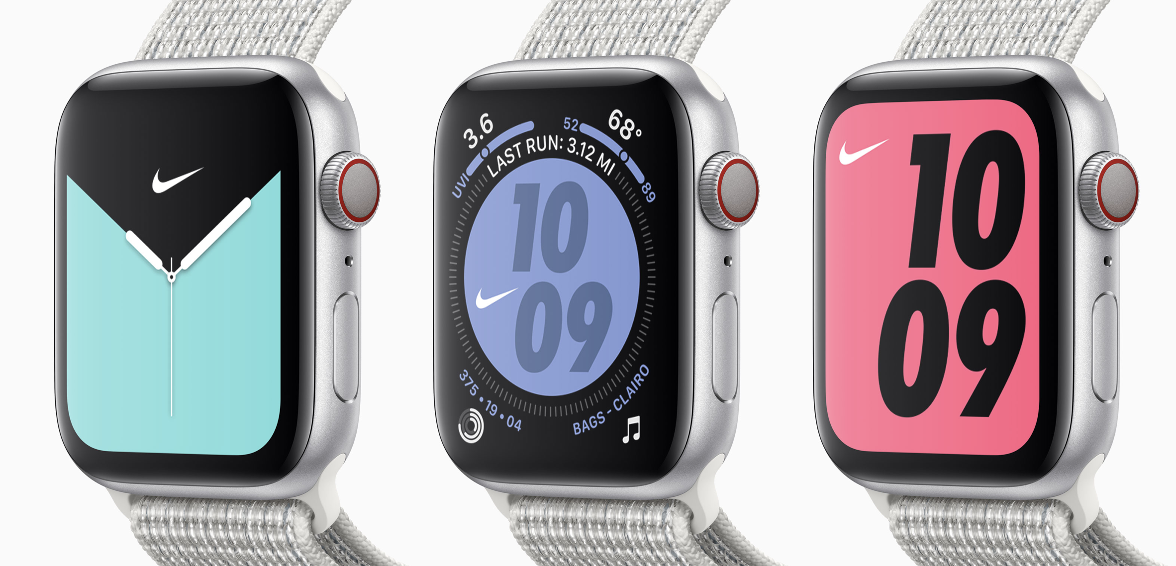 Apple Watch Nike+ watch faces