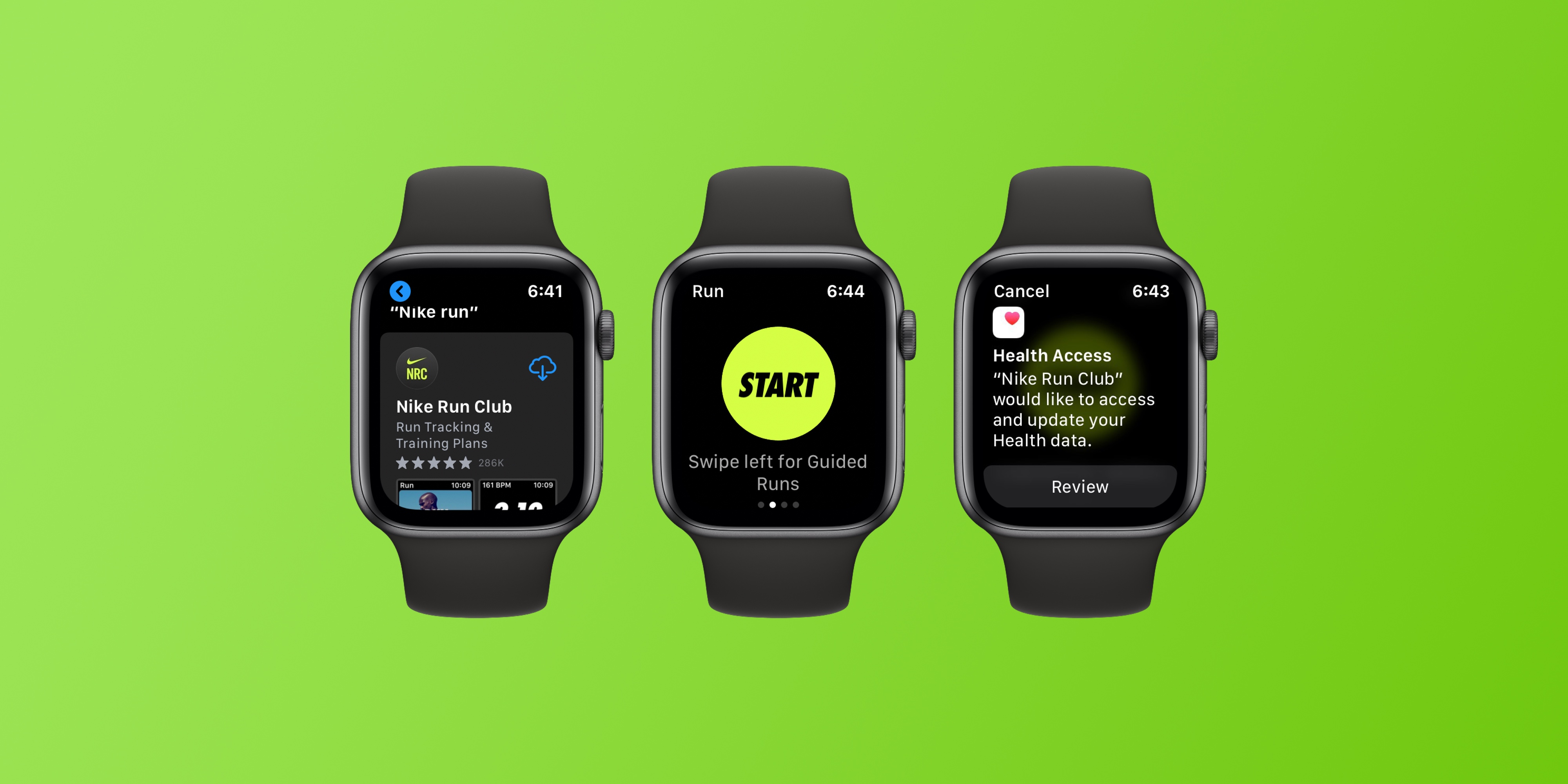 Demostrar molestarse oportunidad  Nike Run Club now available as a completely standalone Apple Watch app -  9to5Mac