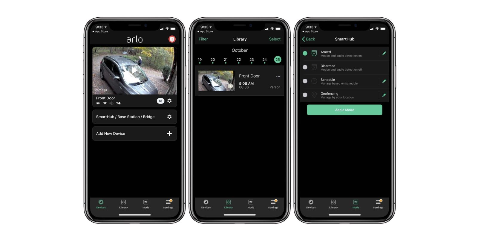 Arlo for iOS gains Dark Mode, 2FA improvements, and more after HomeKit expansion