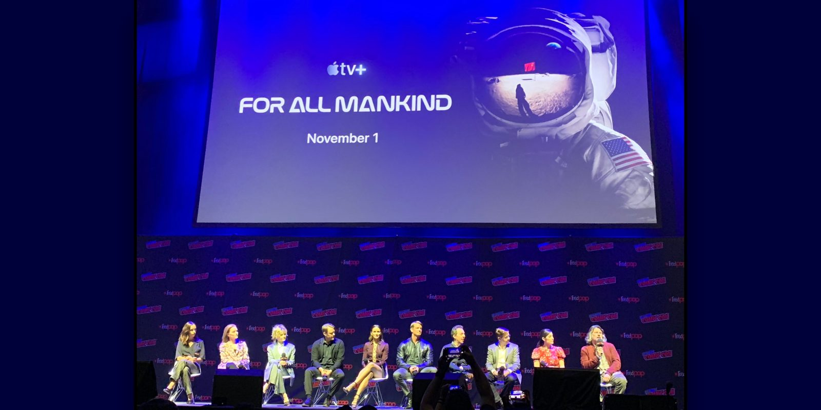 Apple previews For All Mankind at New York Comic Con, pitched as 'Mad Men for NASA'
