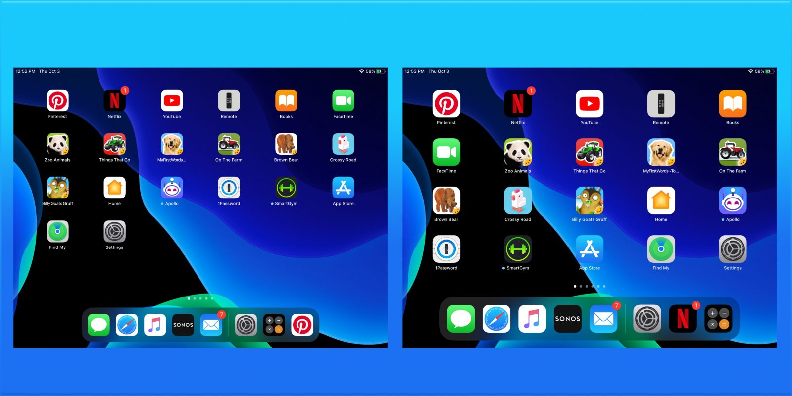 iPadOS 13: How to make iPad app icons and text bigger