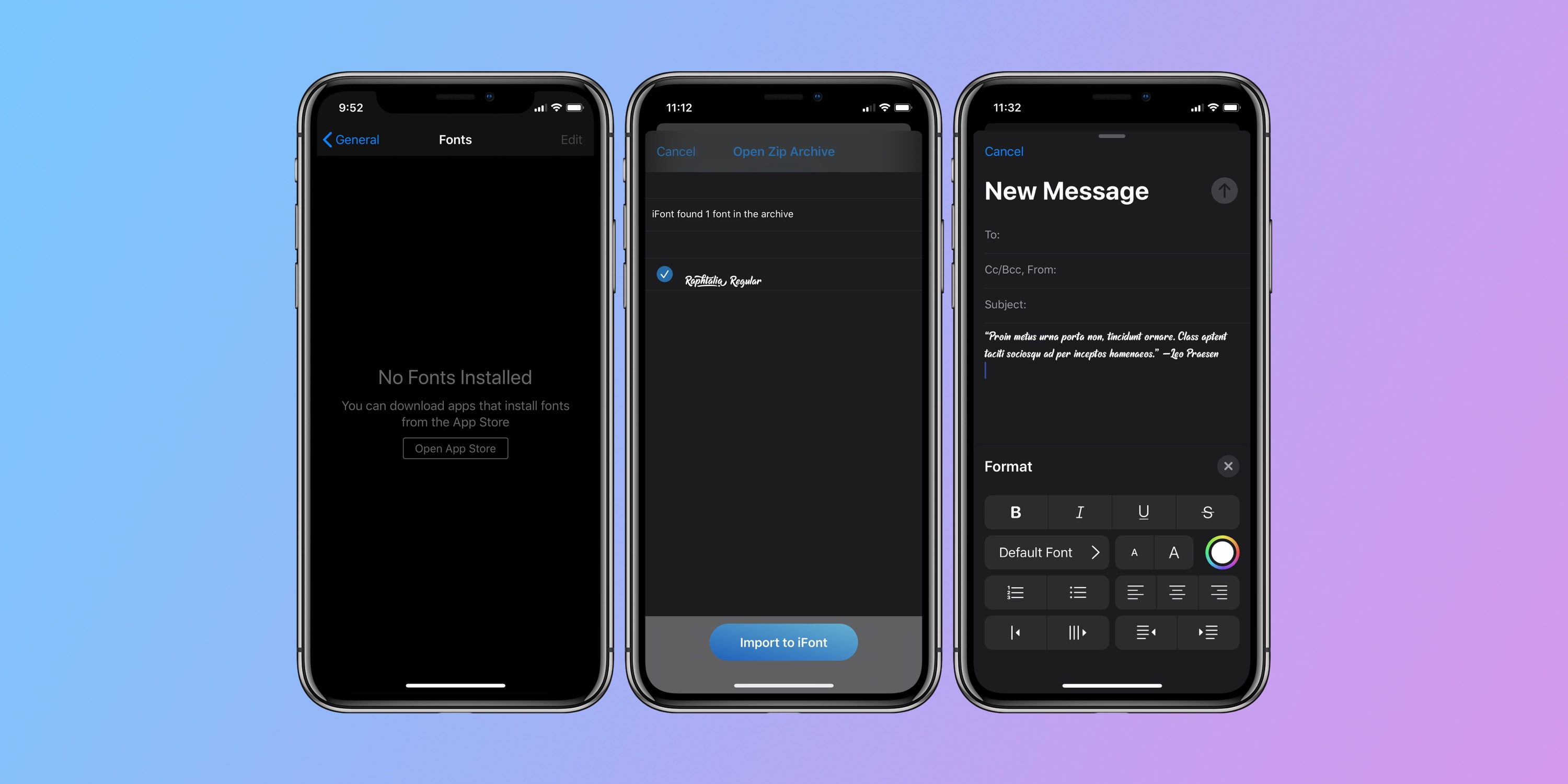 How to use custom fonts on iPhone and iPad - 9to5Mac