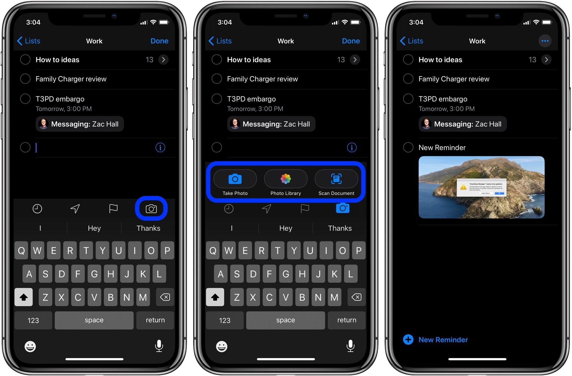 iOS 13 教程:如何在向某人發送信息時觸發提醒事項?