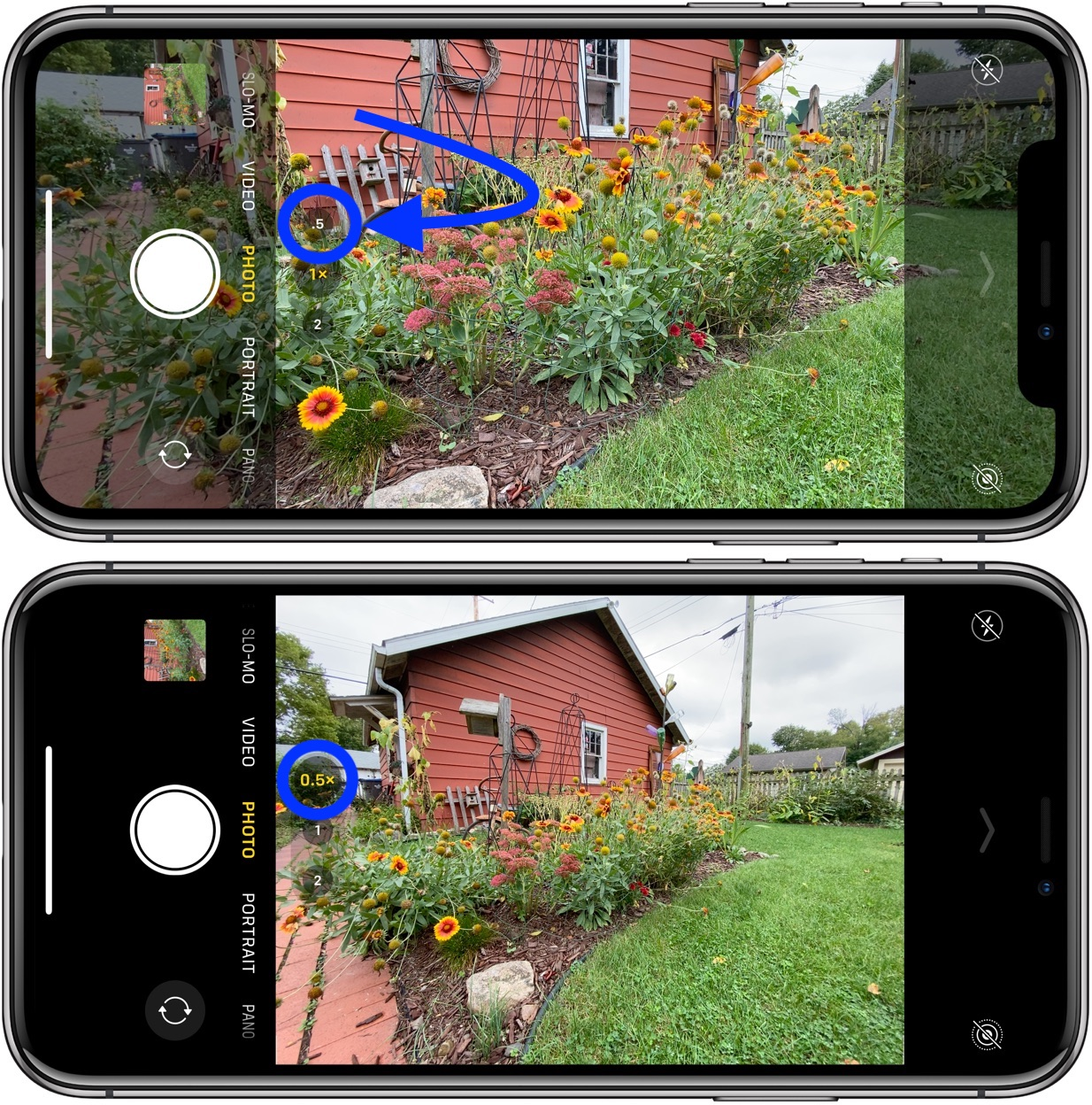 How to use ultra wide camera iPhone 11 and iPhone 11 Pro walkthrough 1