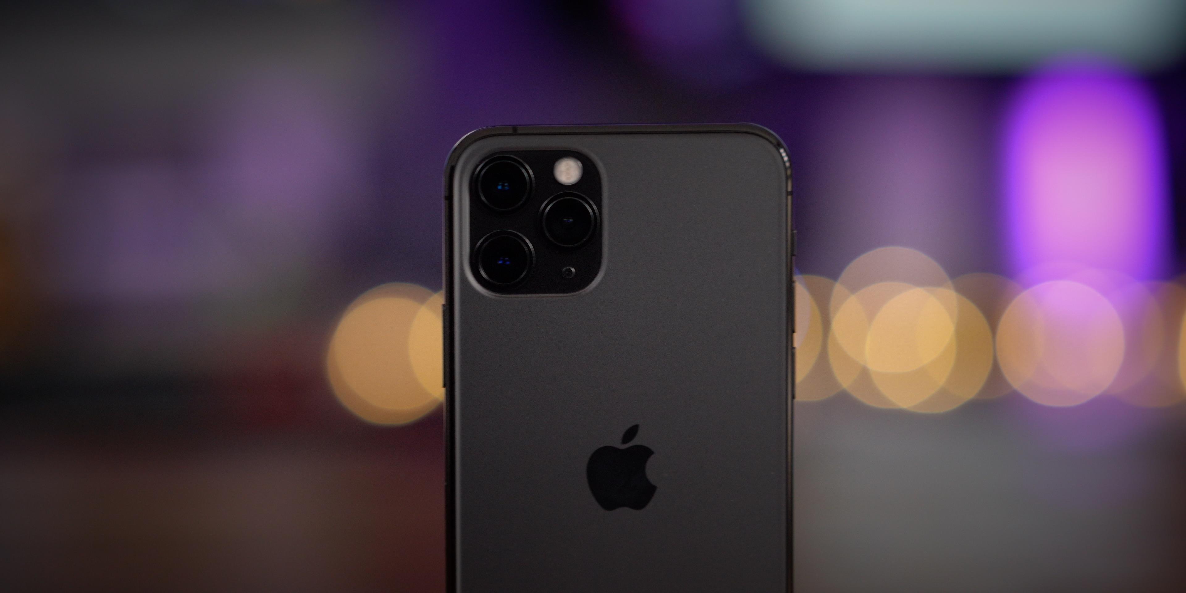 iPhone 11 pro telephoto lens