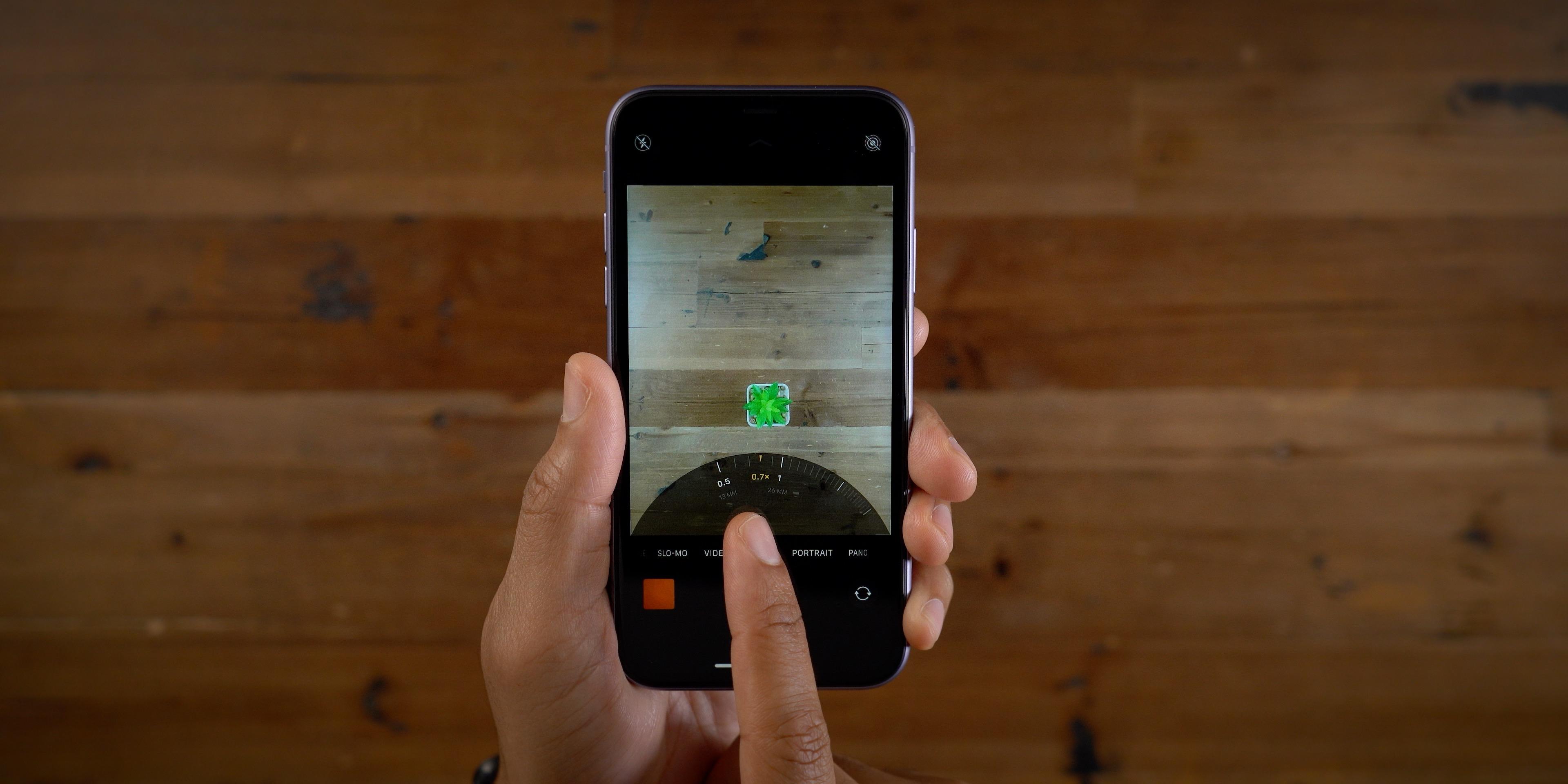 iPhone 11 Camera app
