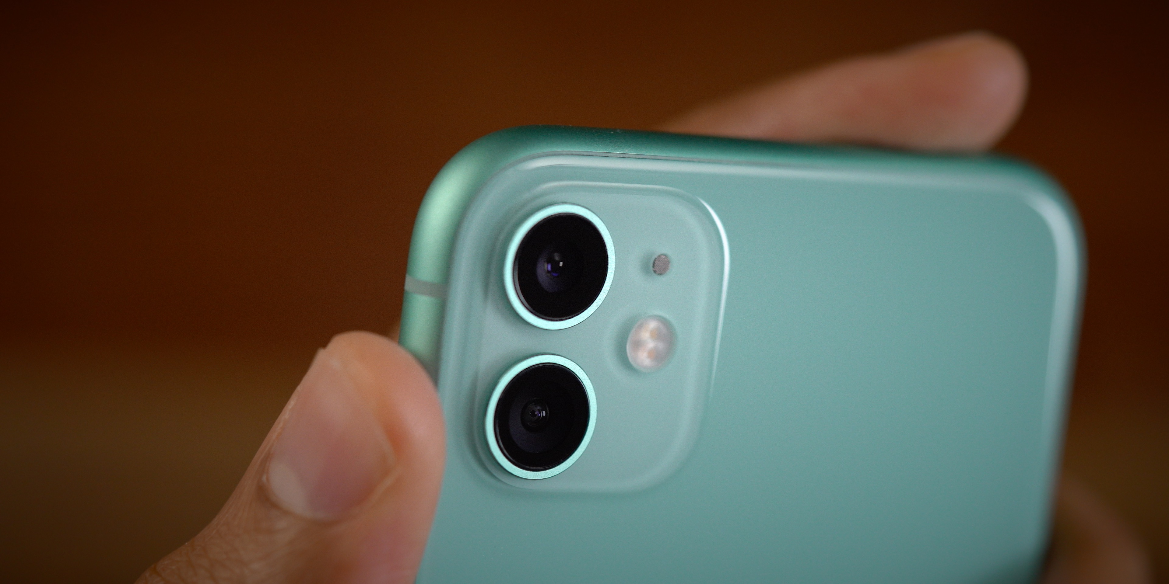 iPhone 11 green cameras