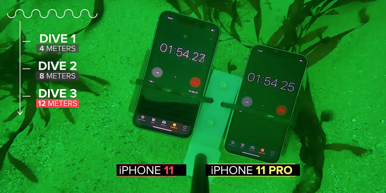 Iphone 11 Waterproof Test Uses Underwater Drone To Dive 39