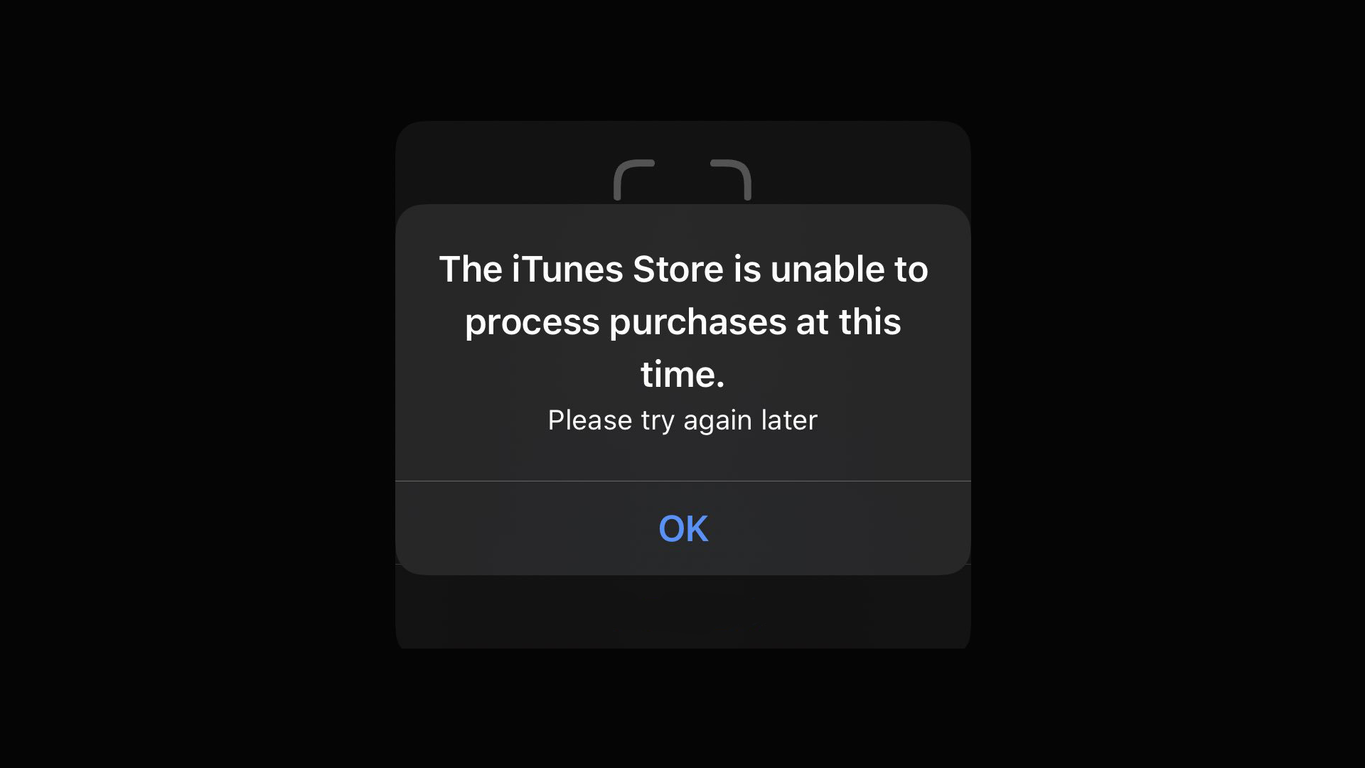 photo of iOS 13 and iPadOS users are randomly seeing an iTunes Store error message image