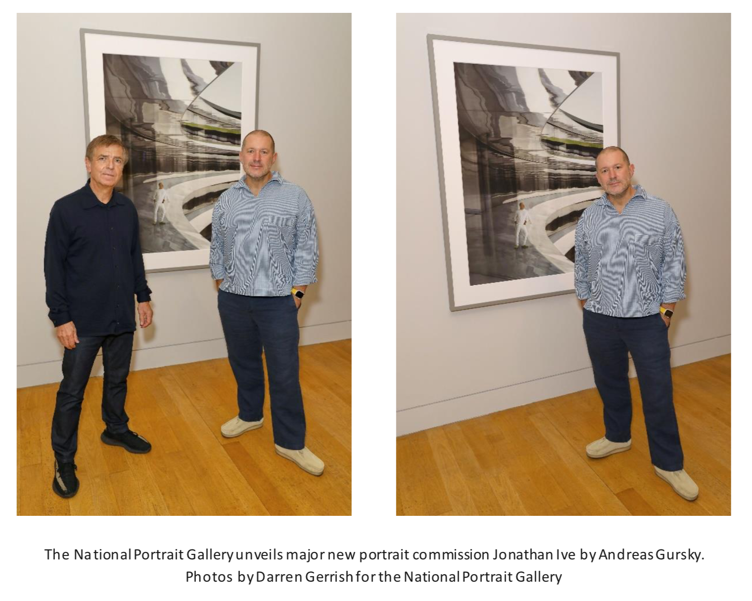 Jony Ive portrait with Andreas Gursky