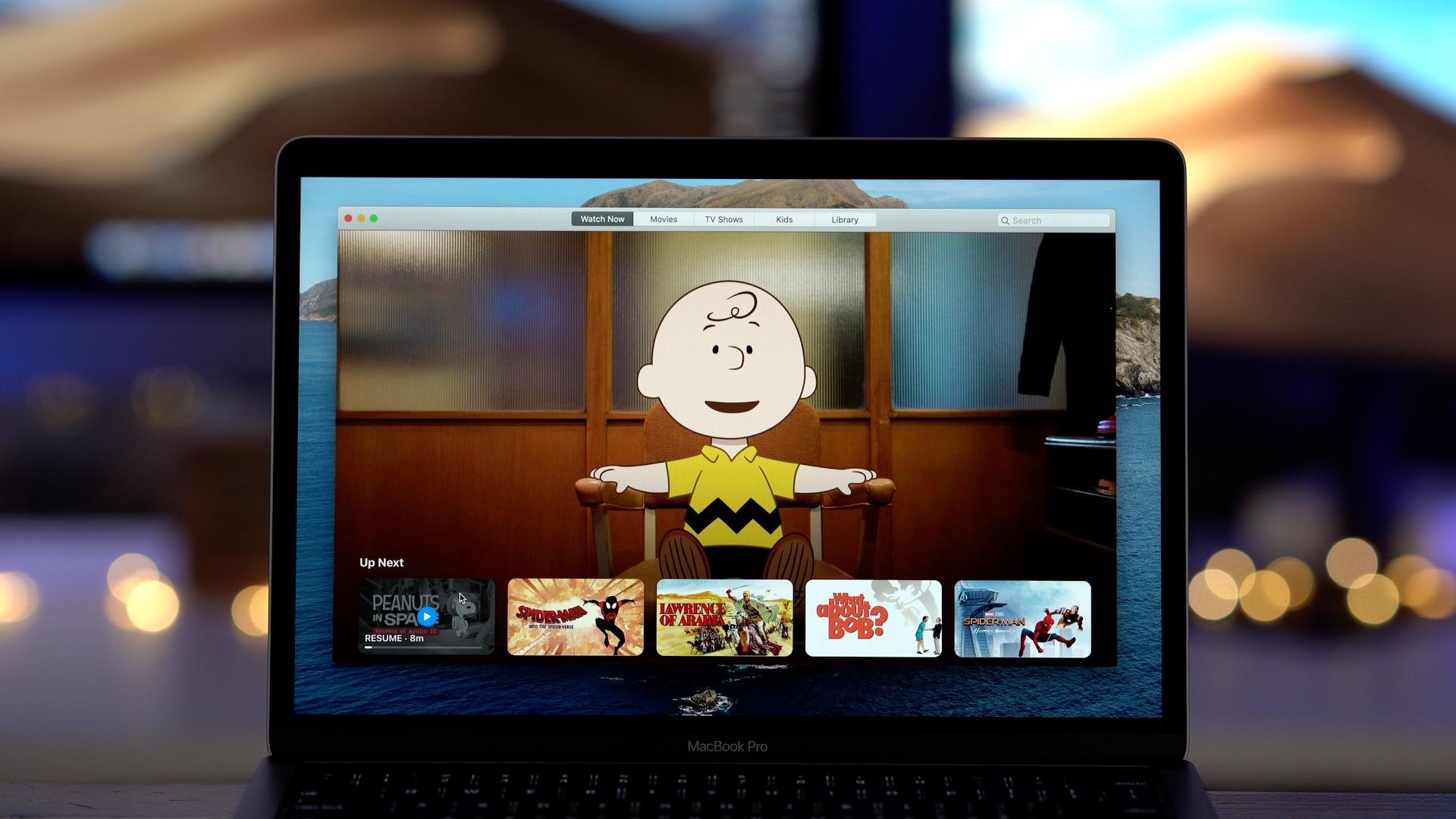 MacOS 10.15 TV app