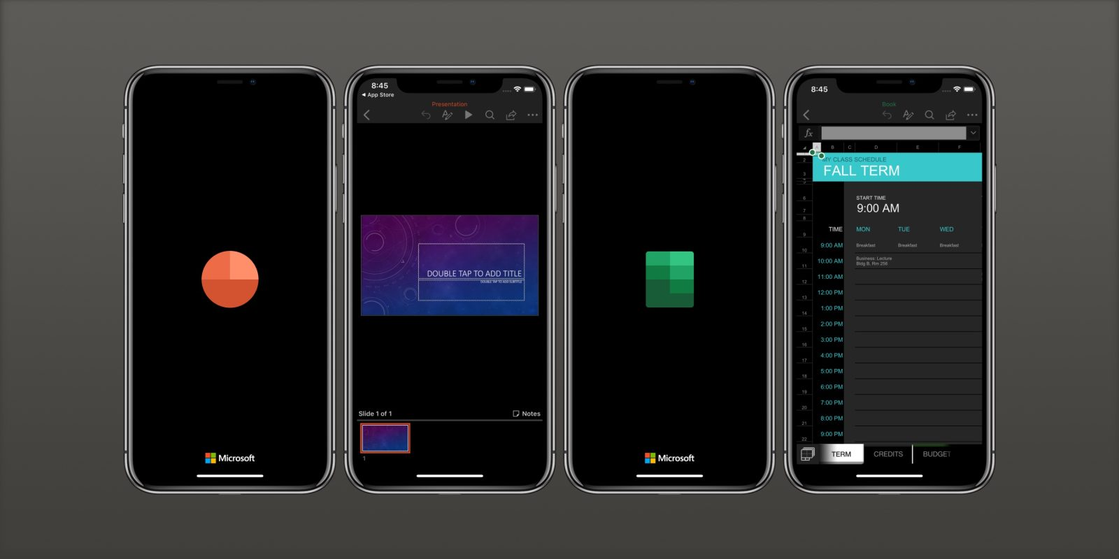 iOS 13 Dark Mode support arrives for Microsoft Word, Excel, PowerPoint, and OneNote