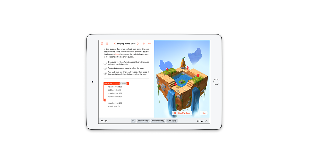 Swift Playgrounds for iPadOS updated with Dark Mode, new SwiftUI support, more