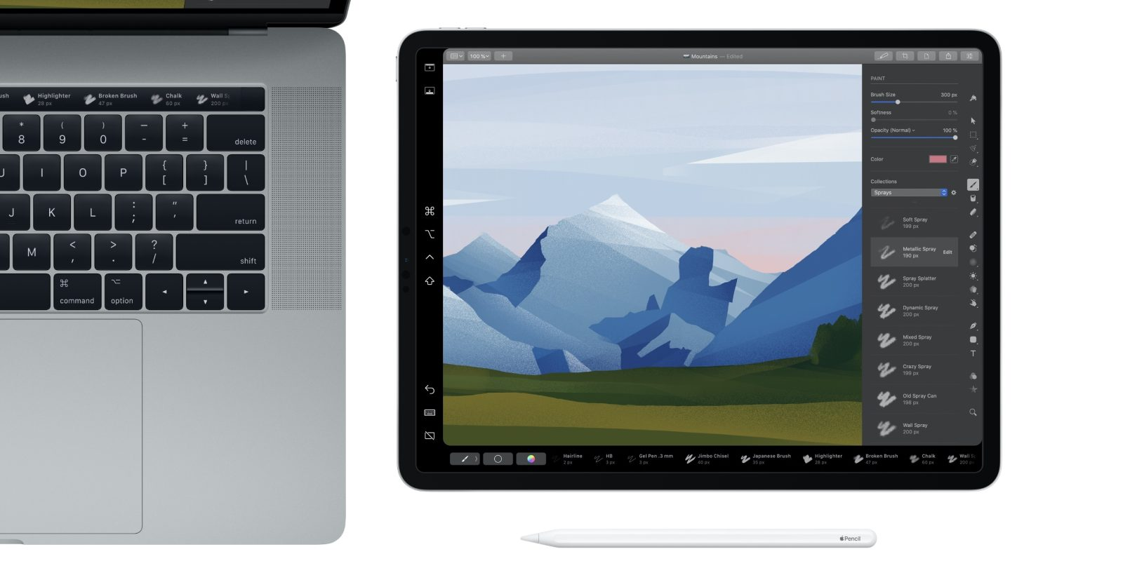 Pixelmator Pro adds rich support for Sidecar in macOS Catalina, the new Mac Pro, and adds a new Denoise tool