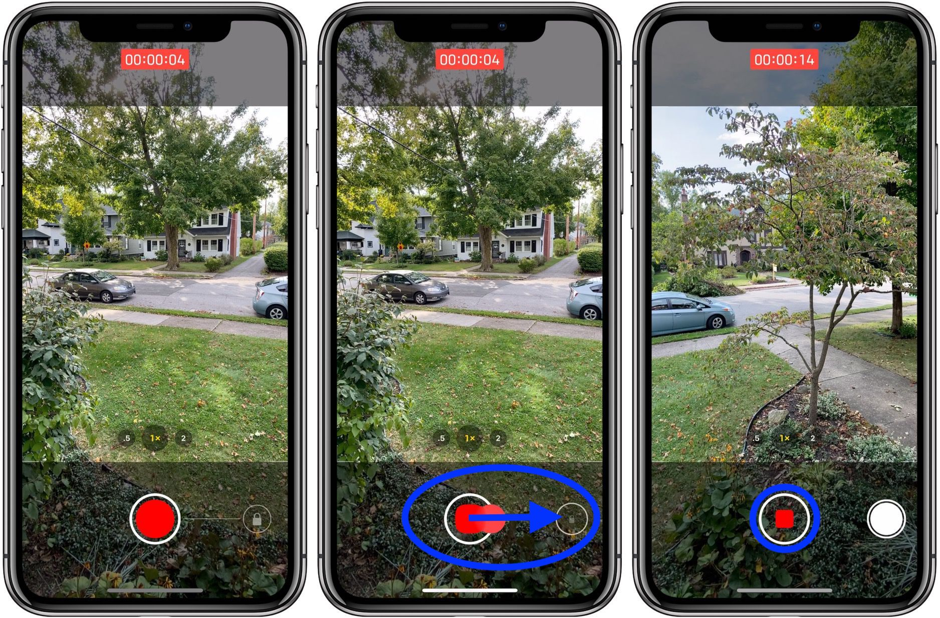 use QuickTake video shortcut iPhone 11 and iPhone 11 Pro camera walkthrough 2