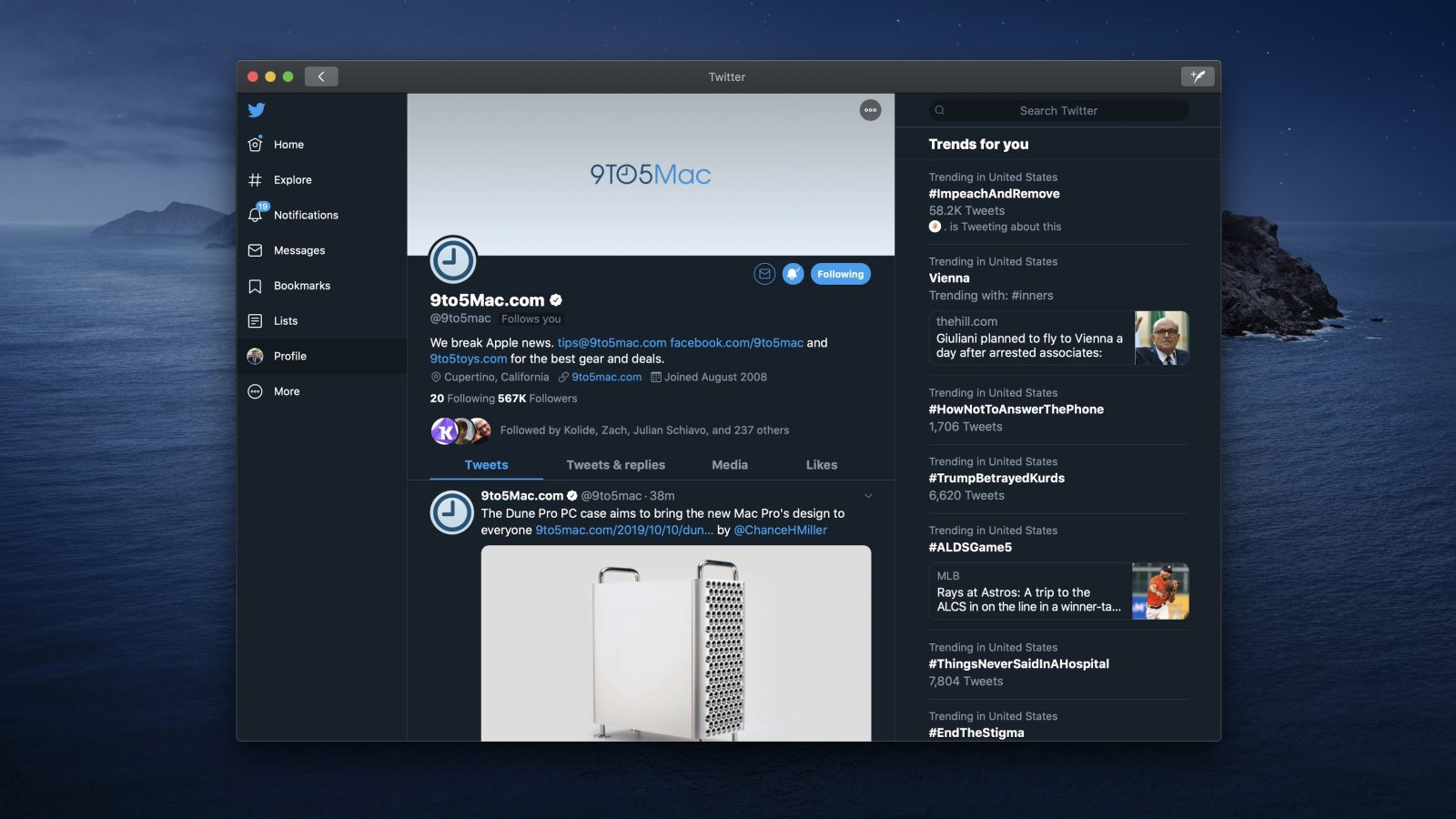 Twitter fixes notifications bug in latest Mac app update