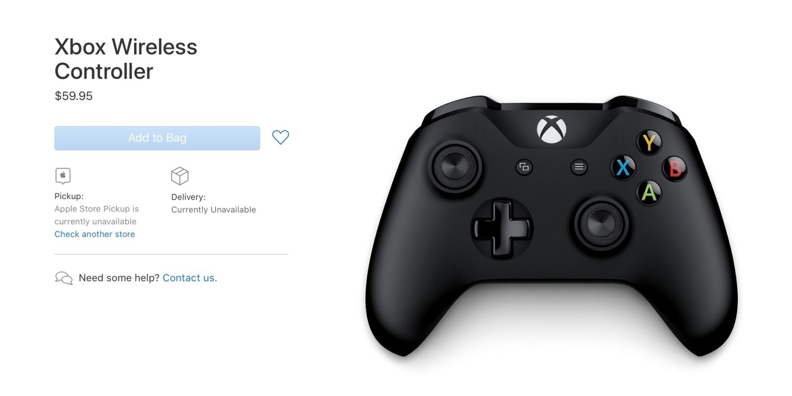 Image result for Apple now selling Microsoft Xbox gaming controller to boost Arcade service in iOS 13