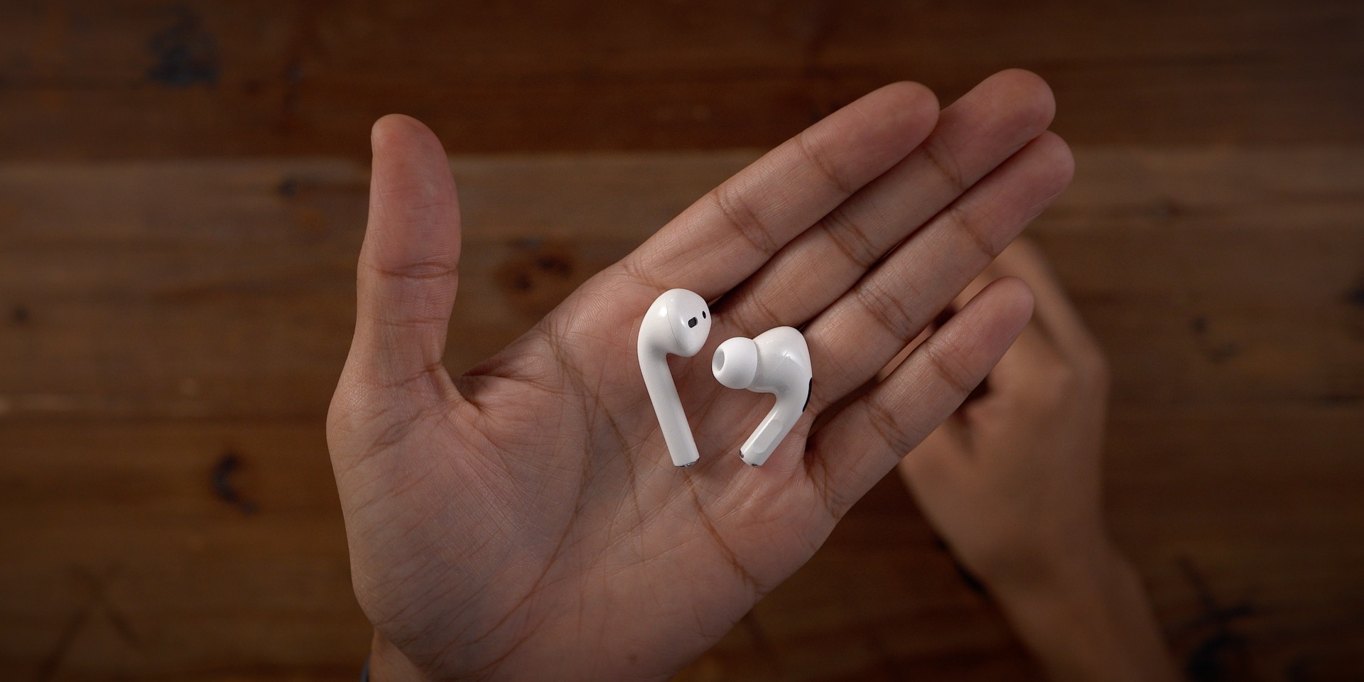 AirPods Pro in-hand